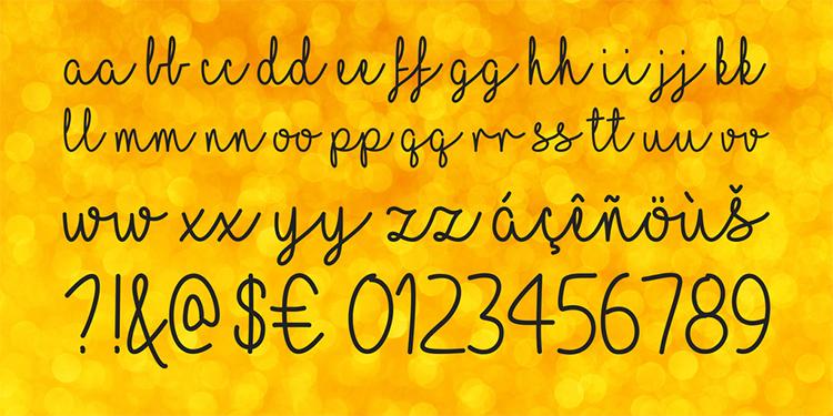 04_I-love-glitter-free-font