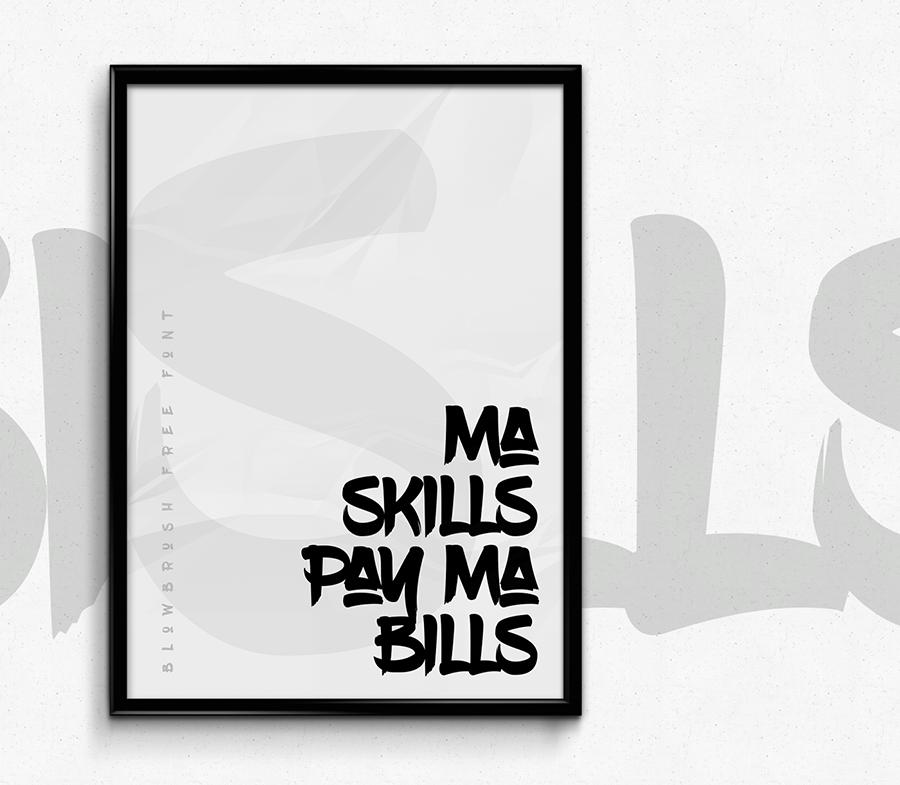 04_blowbrush_free-font