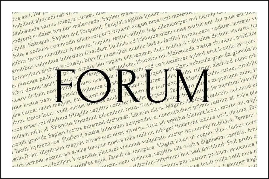 Forum Typeface - Befonts com