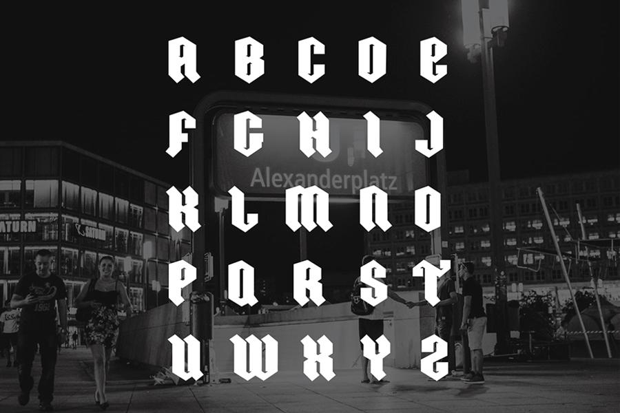 03-ordnung-free-font