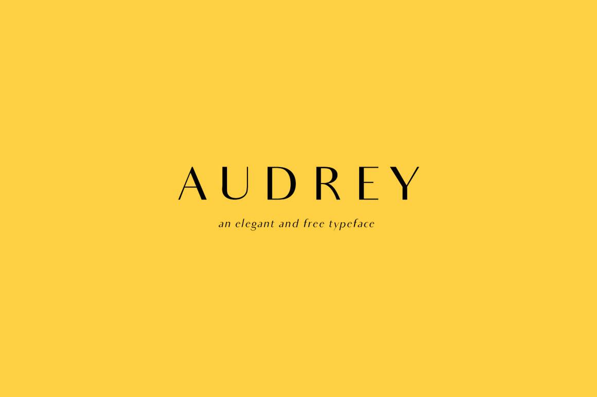 Audrey Font - Befonts com