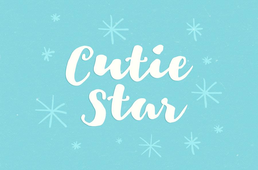 Cutie Star Font   Download