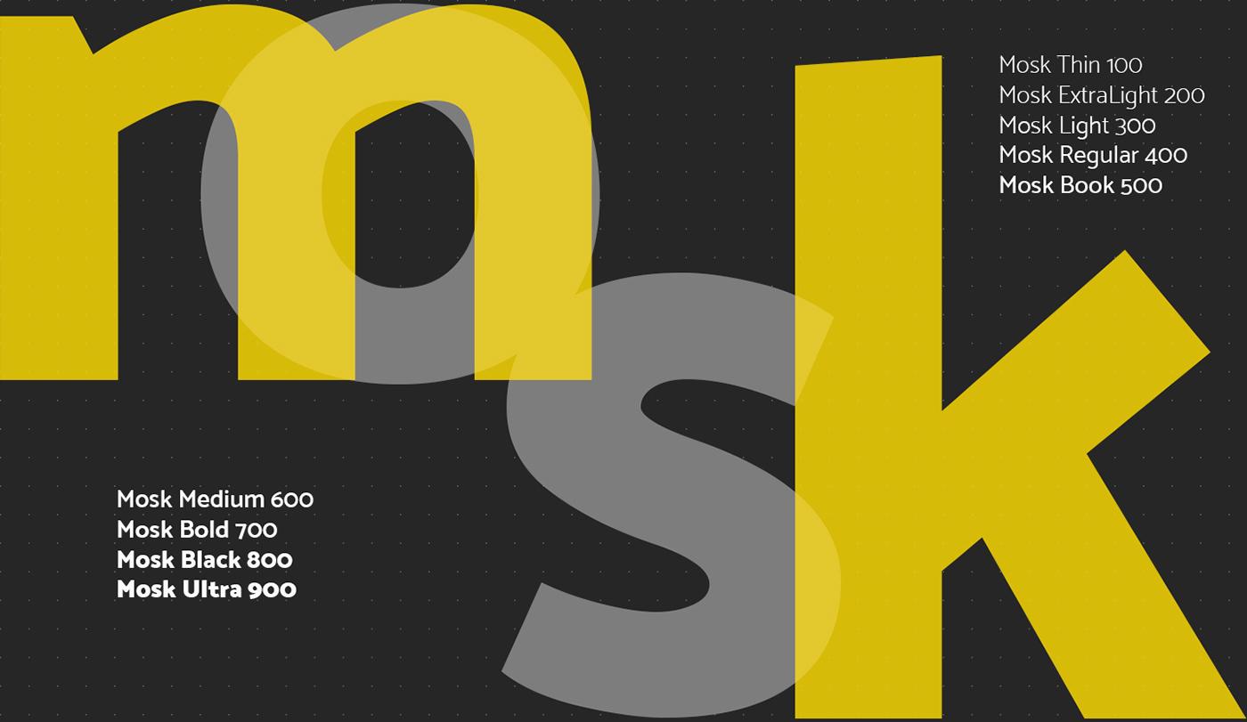 Mosk Typeface 6