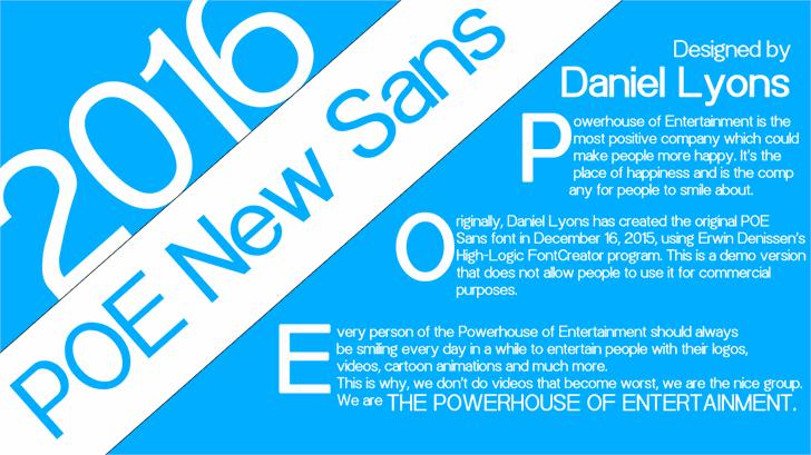 POE Sans New font2