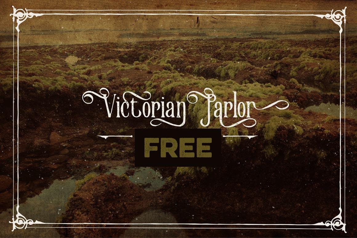 Victorian Parlor Font - Befonts com