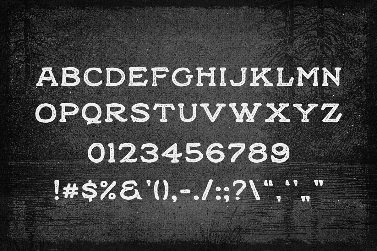 Black willow font befonts