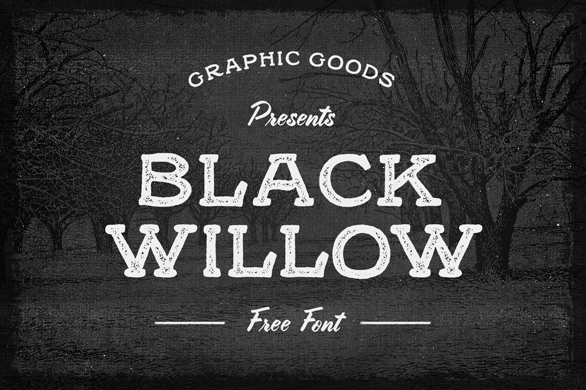 Black Willow Font - Befonts.com
