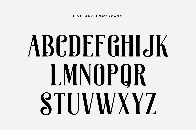Moalang Free Font 5