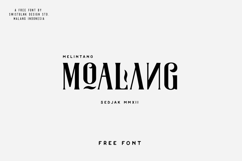 Moalang Font