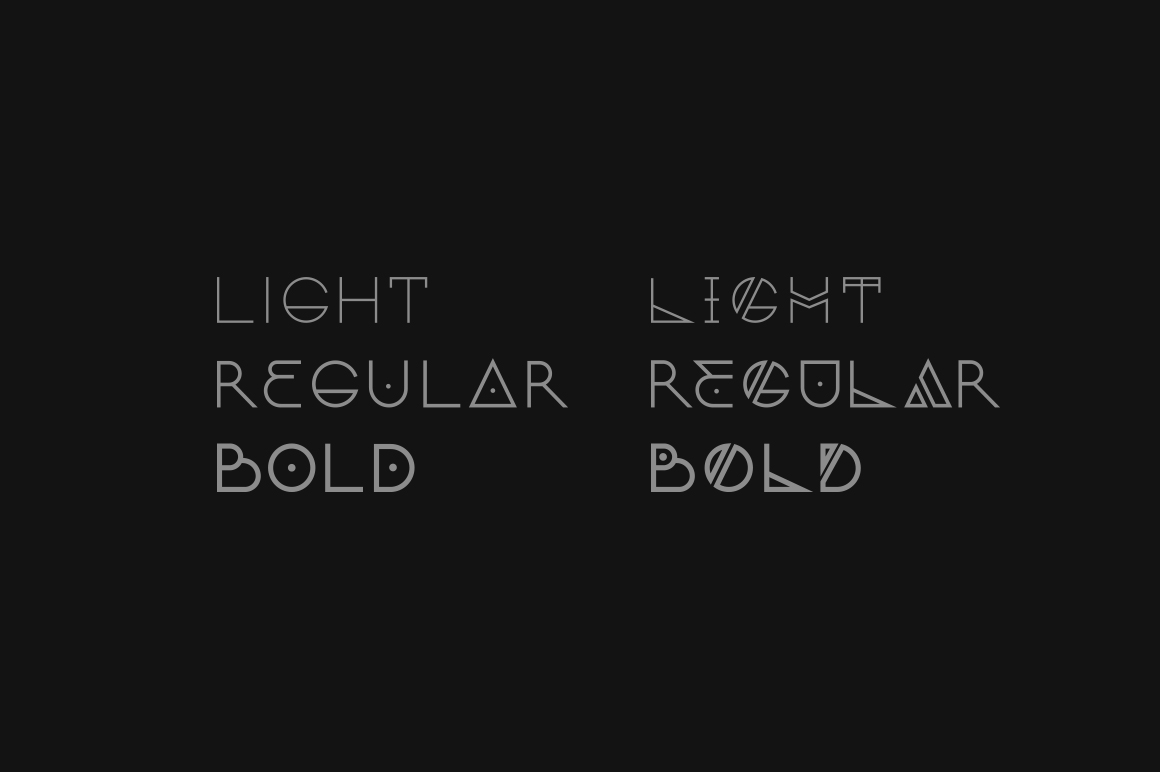 bold fonts for logos
