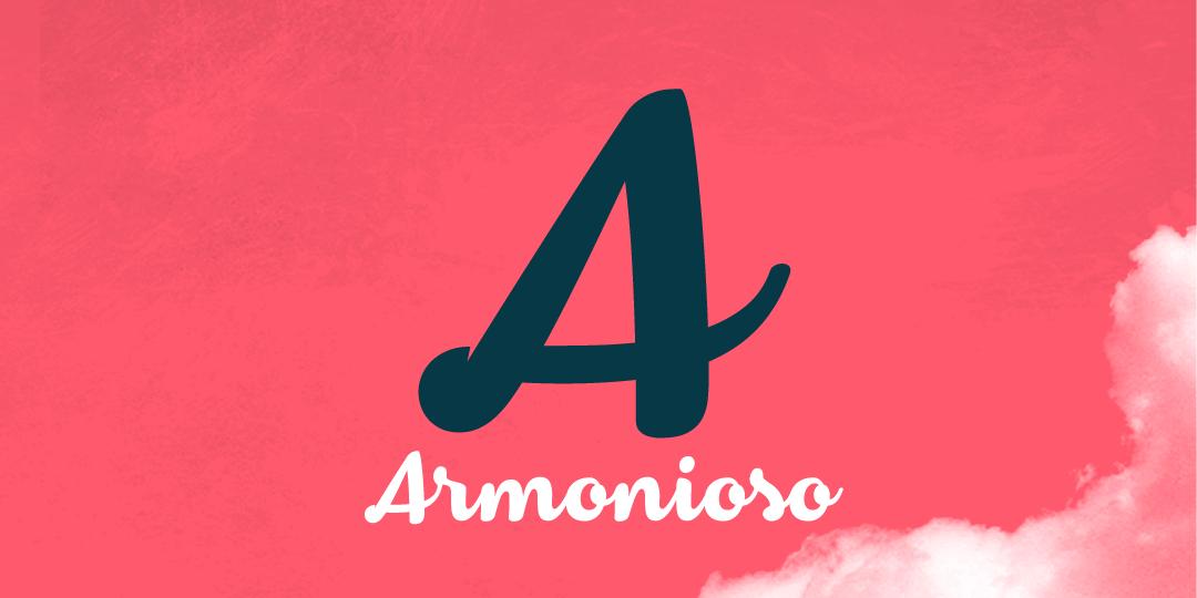 Armonioso Font4