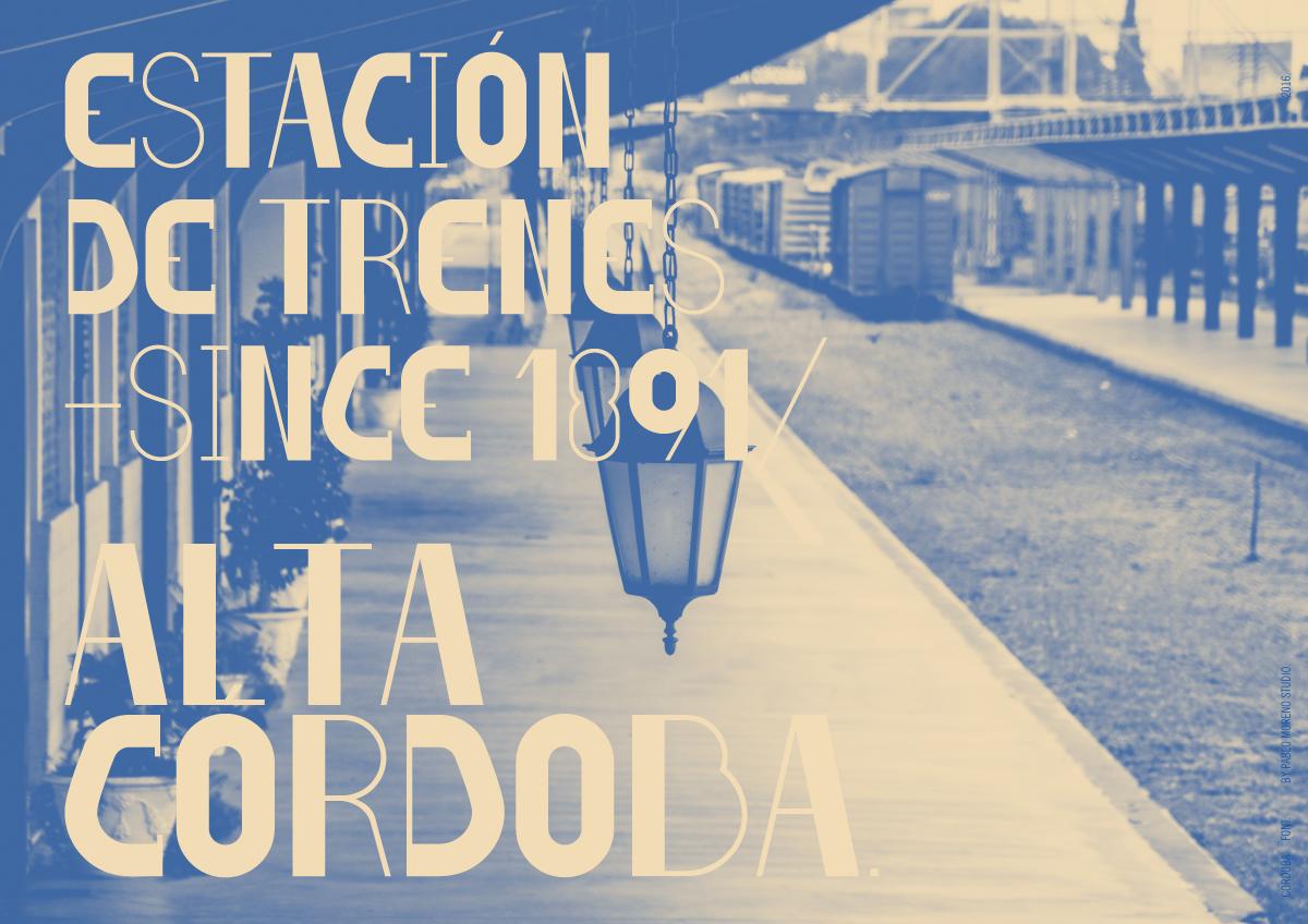 Cordoba Font 2