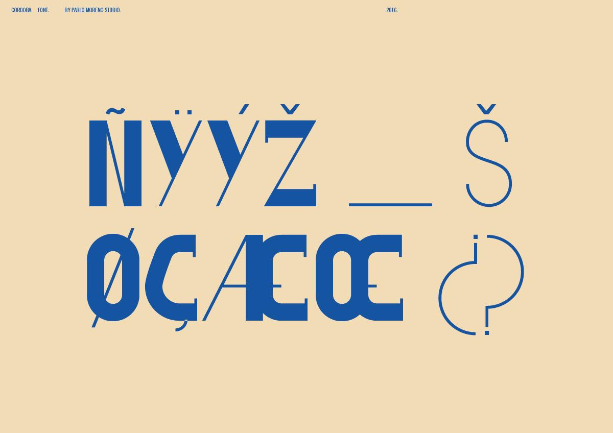 Cordoba Font 6