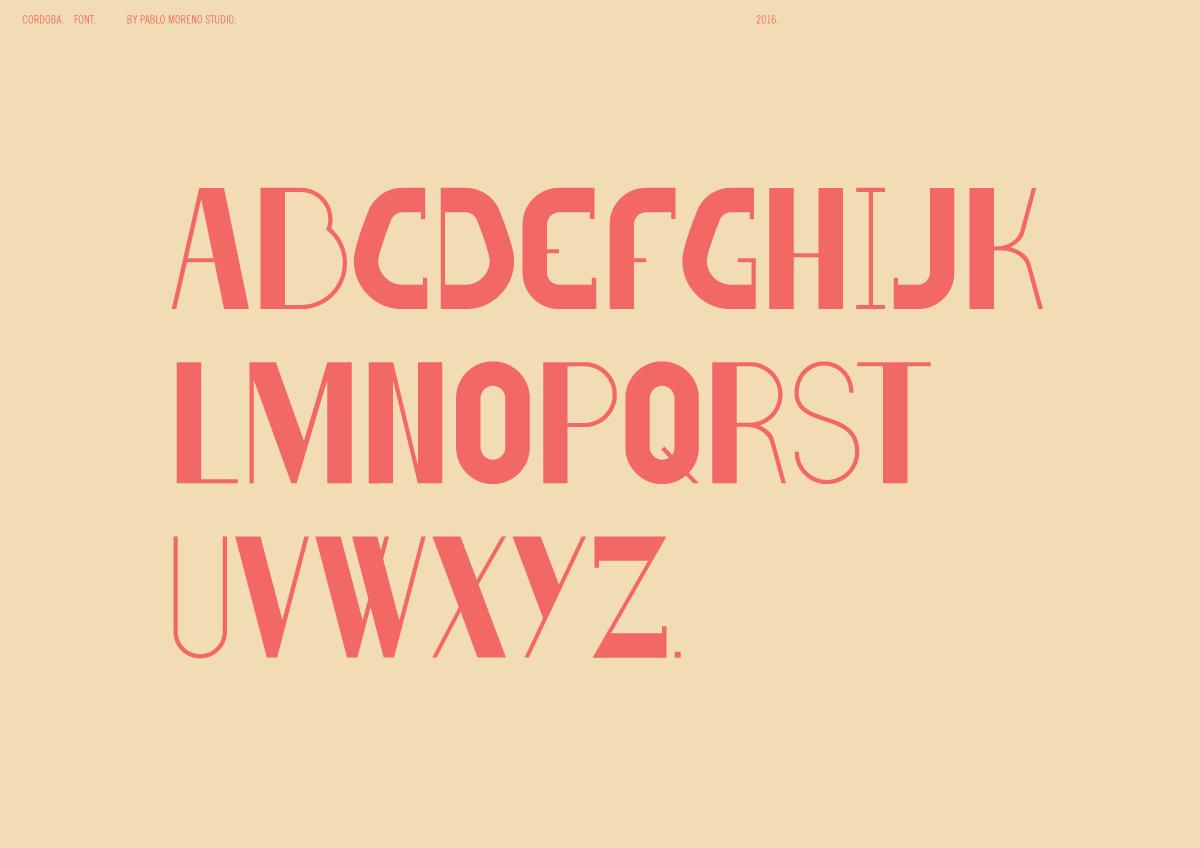 Cordoba Font 9