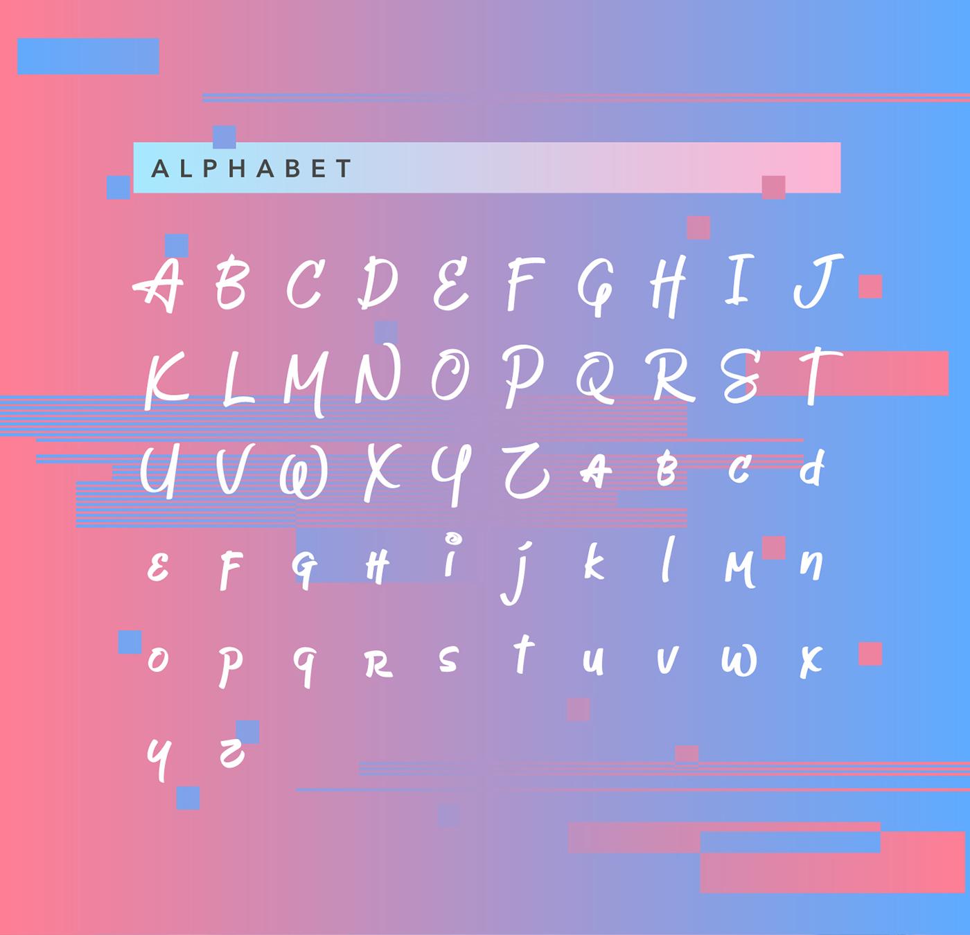 Jeboy Typeface 4