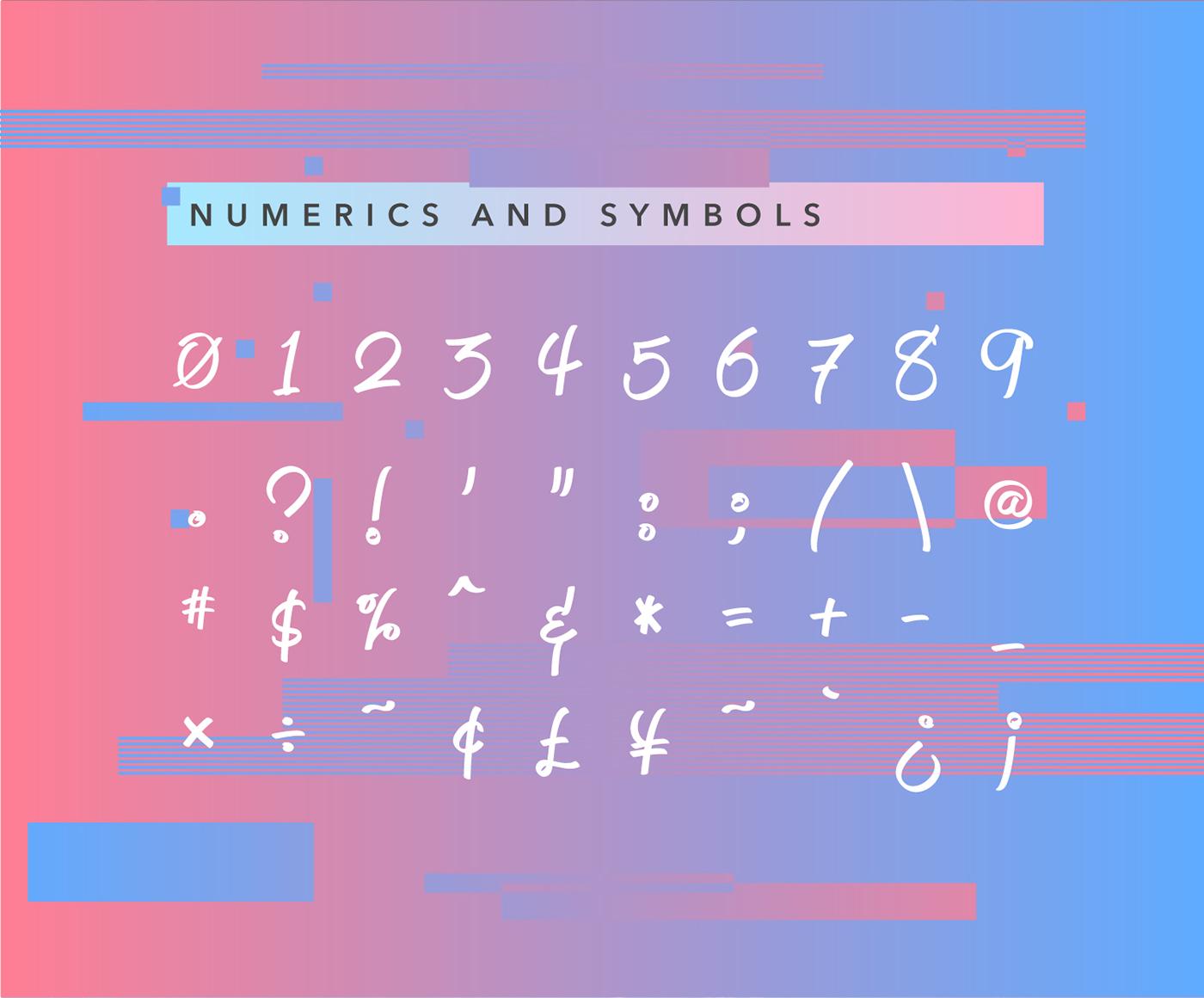 Jeboy Typeface 6