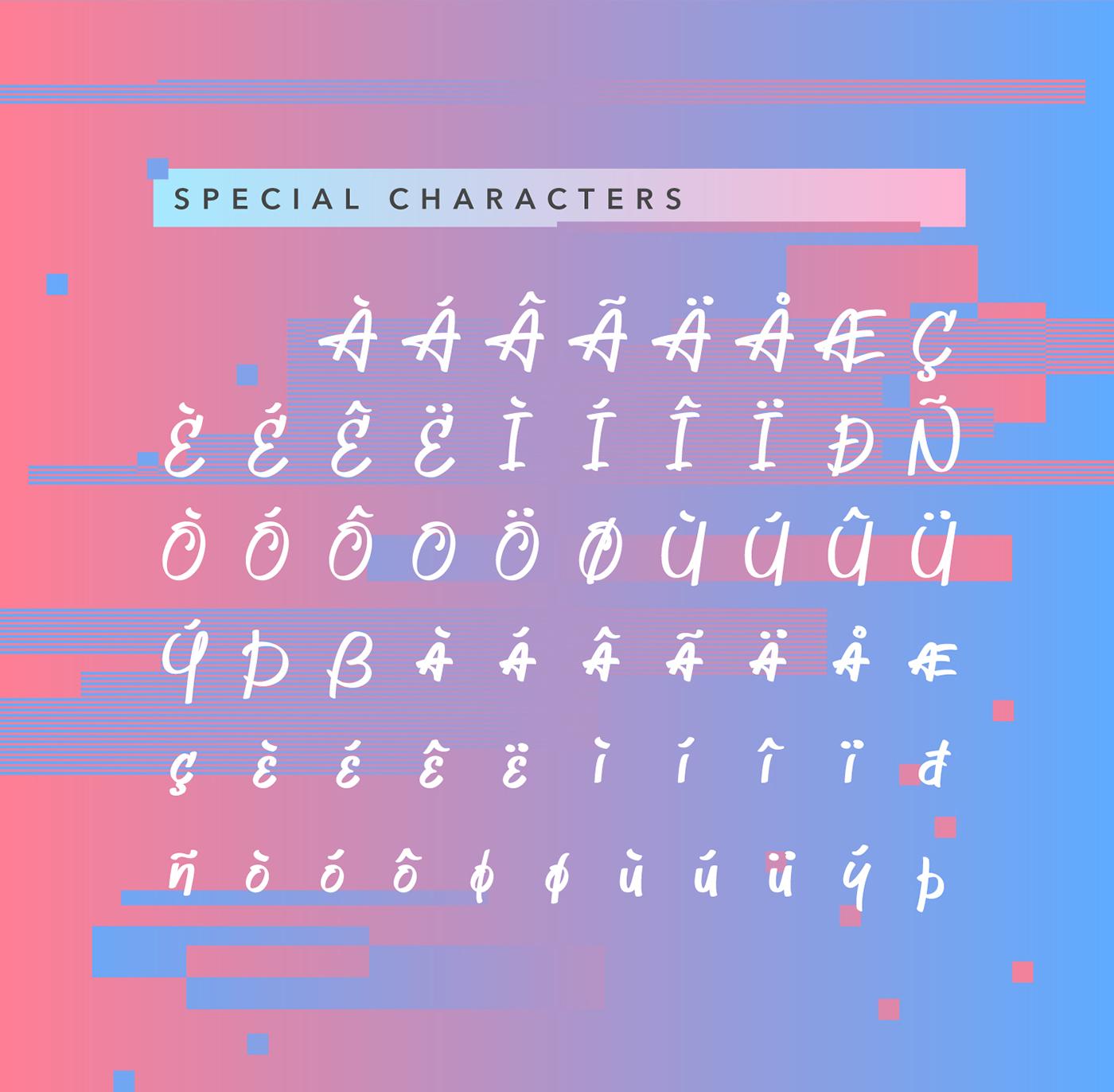 Jeboy Typeface 8