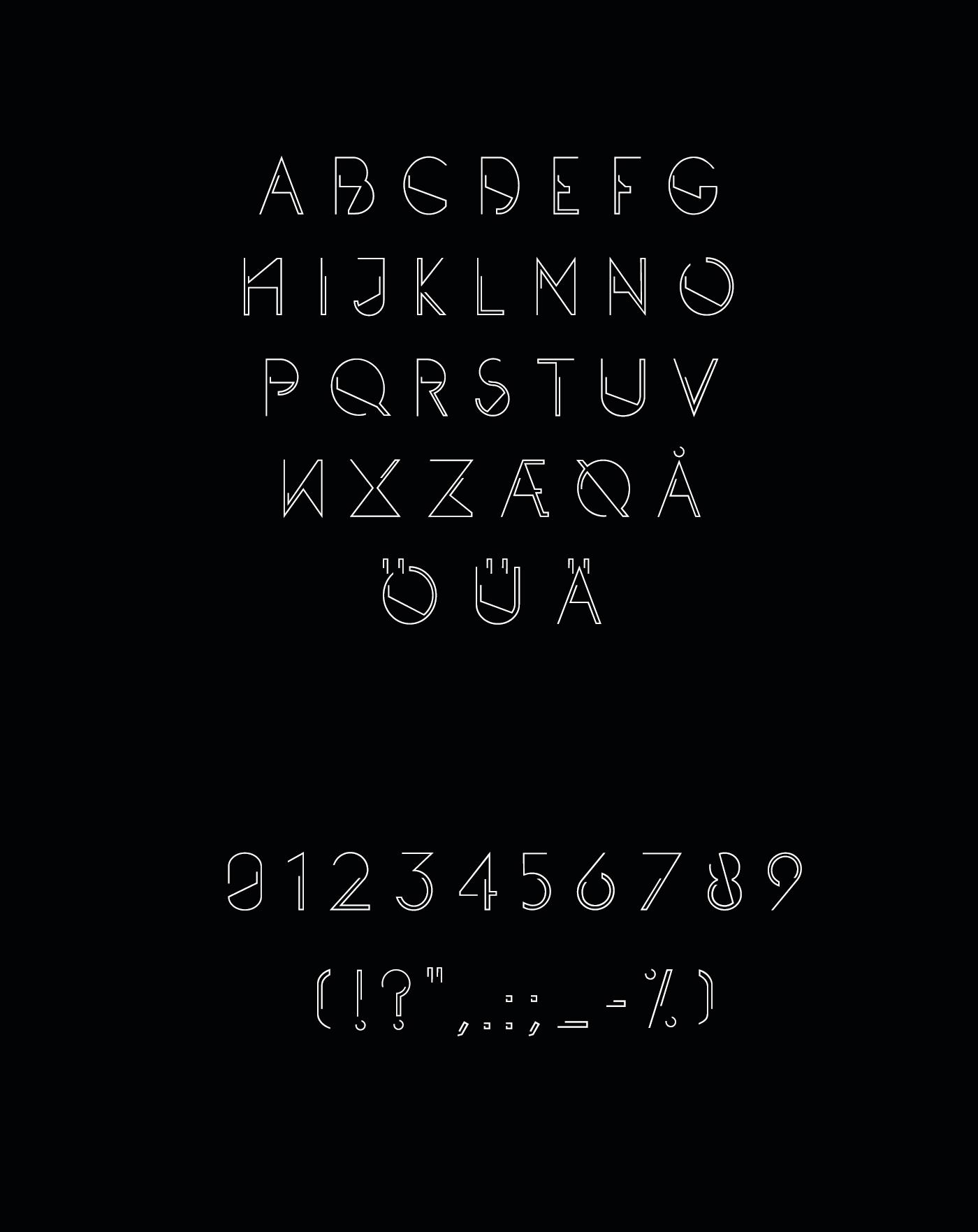 PLENTO - Free typeface 5