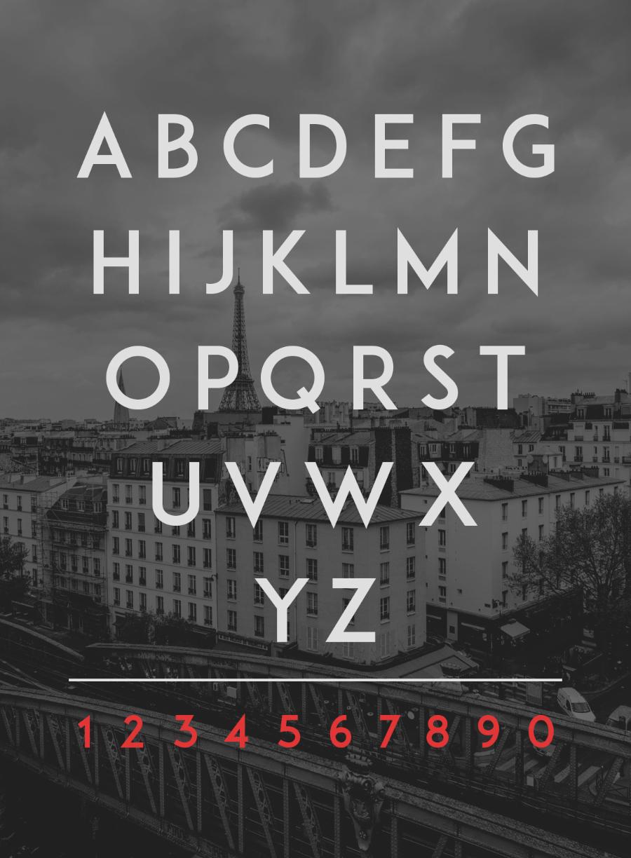 ADAM CG Pro Free Typeface 3