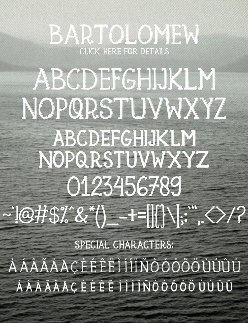 Bartolomew Font 6
