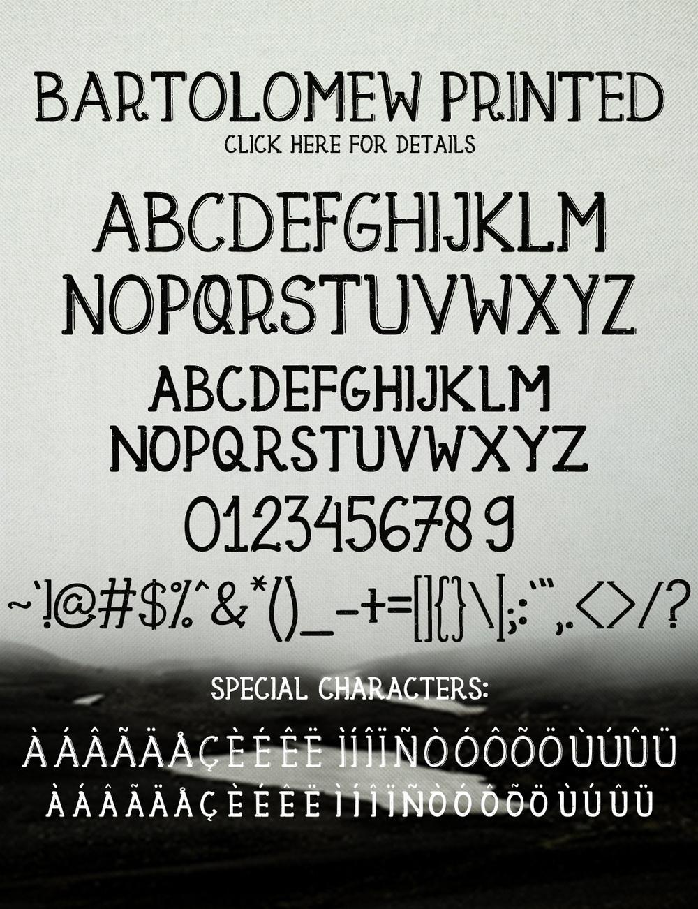 Bartolomew Font 8
