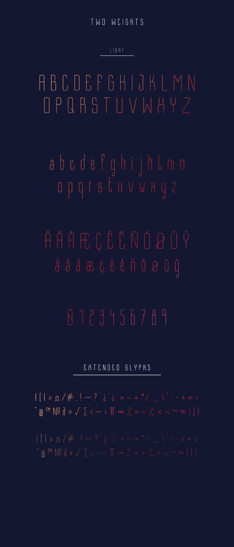 Bastell Free Typeface 1