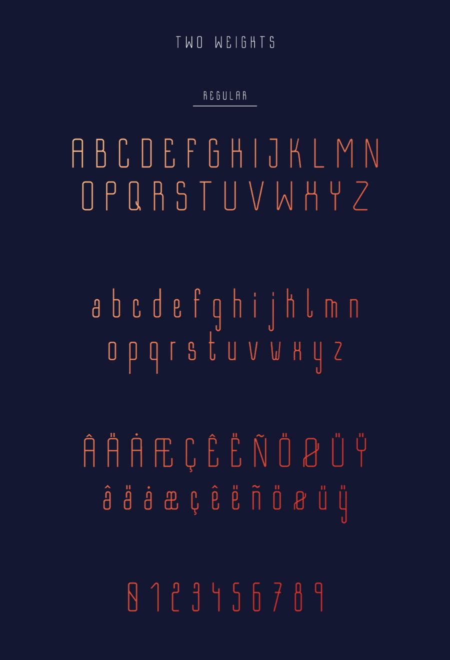Bastell Free Typeface 2