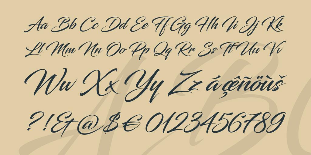 Blacksword Font 8