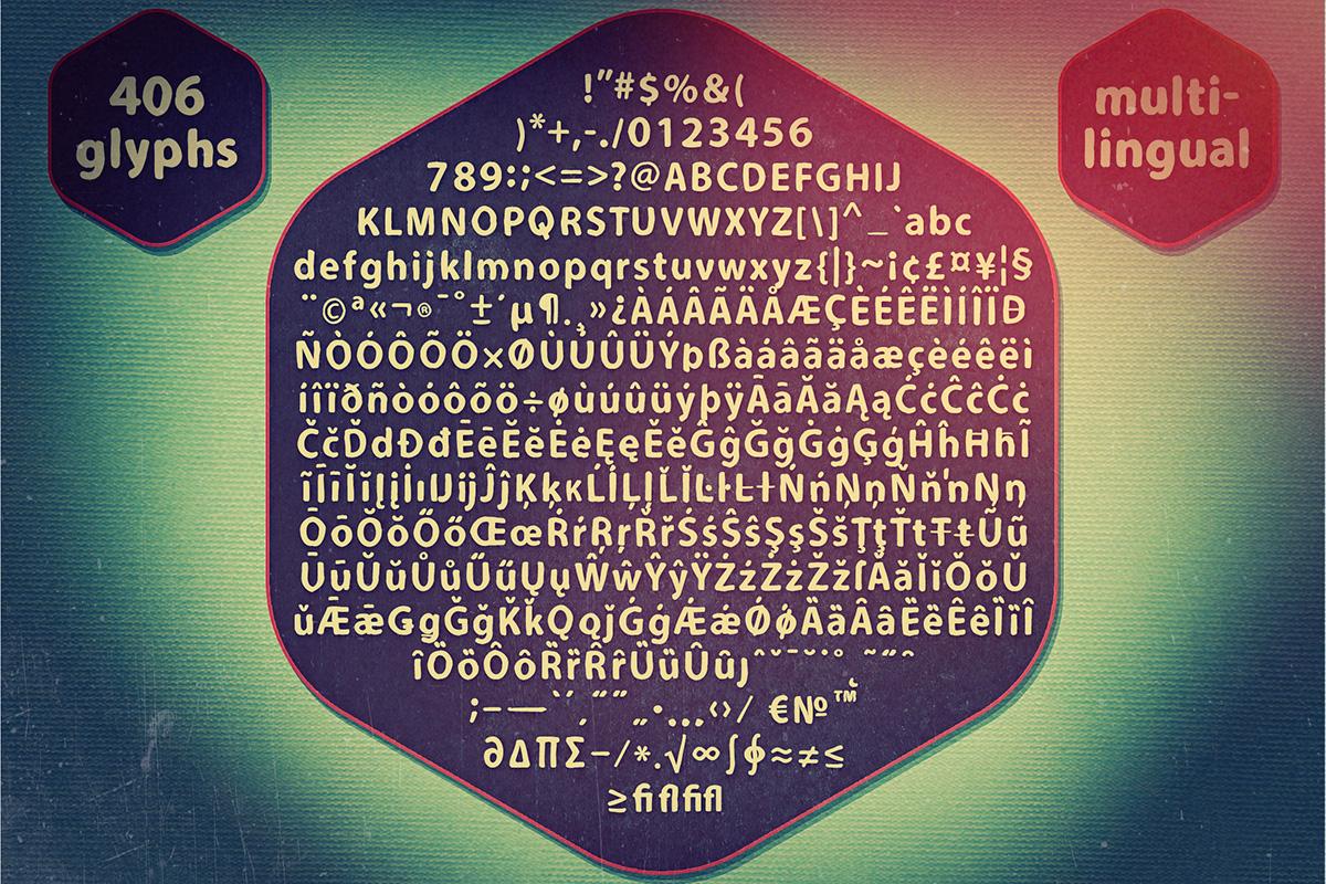 Carson Extras Typeface 1