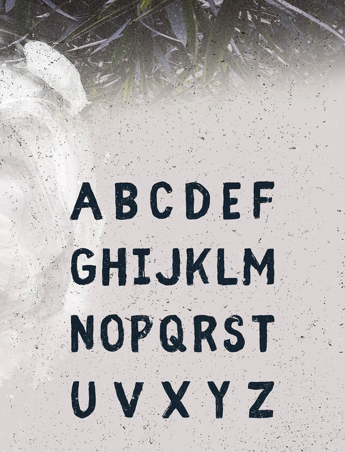 Fibre - Free Vintage Font 7