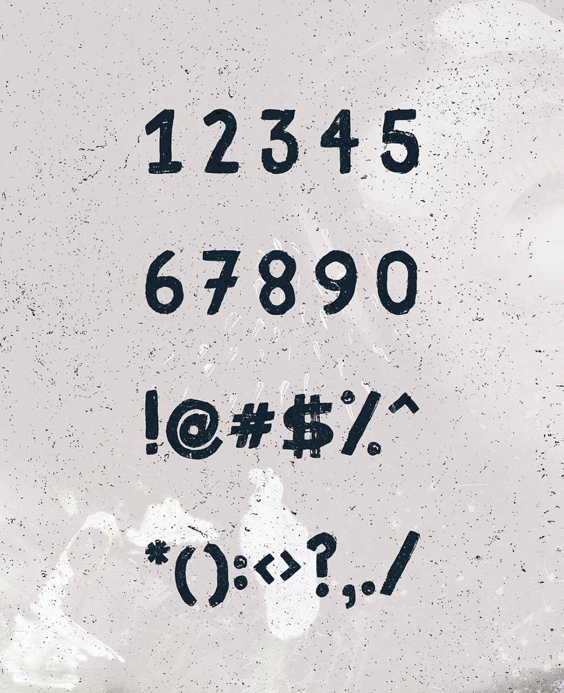 Fibre - Free Vintage Font 8