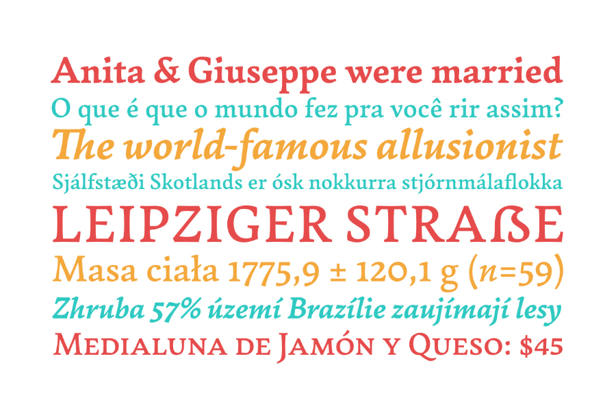 Garibaldi Font 4