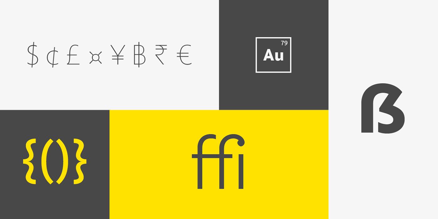 Golden Sans (Free) Font2