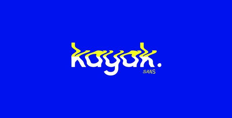 Kayak Sans - Free Typeface 4