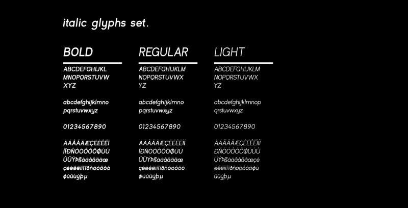 Kayak Sans - Free Typeface 5
