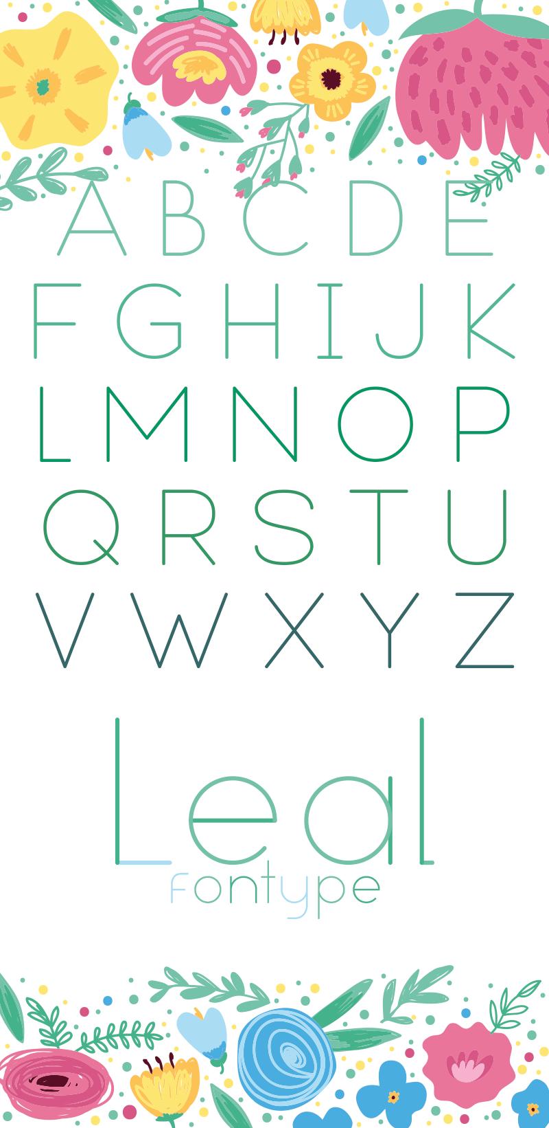 Leal Font 12
