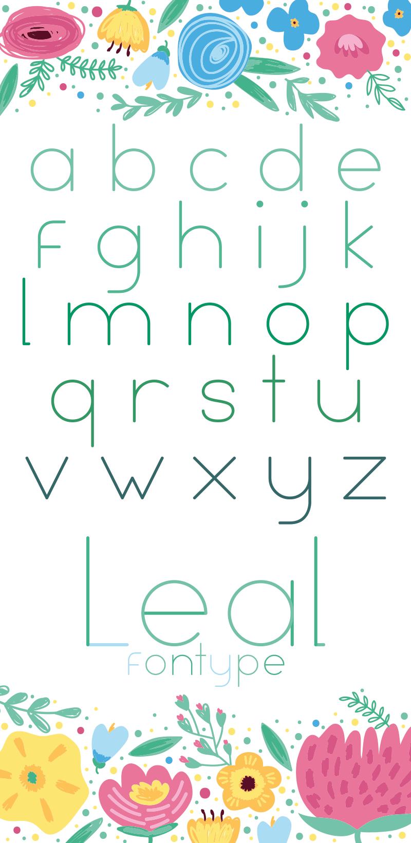 Leal Font 13