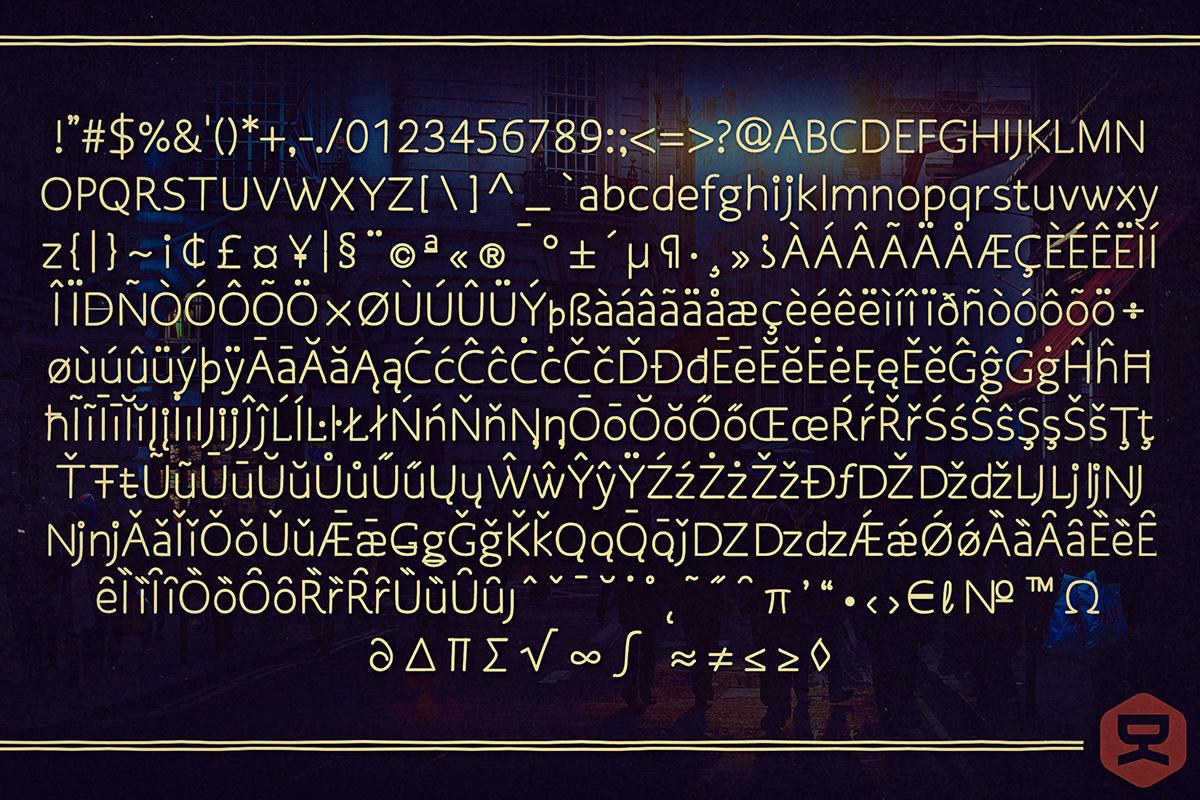 Osgood Sans Font 8