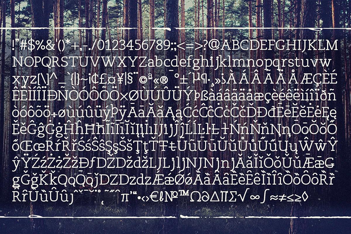 Osgood Slab Font 9