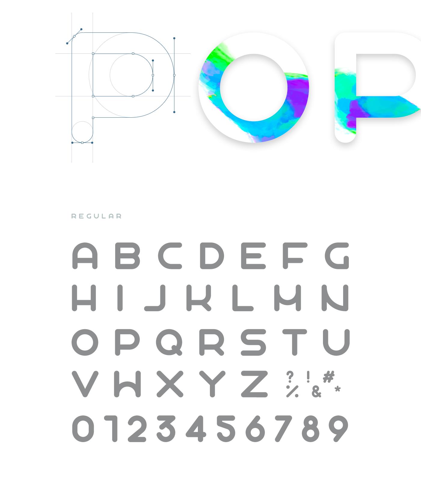 Popo Font 6