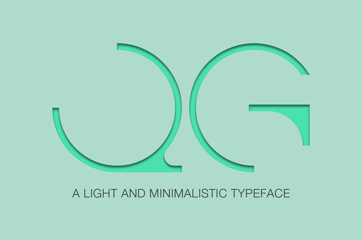 Qg Modern Font