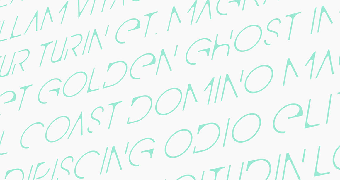 QG – Free Modern Font2