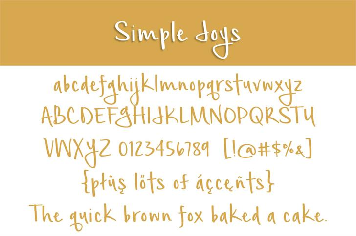 Simple Joys 8