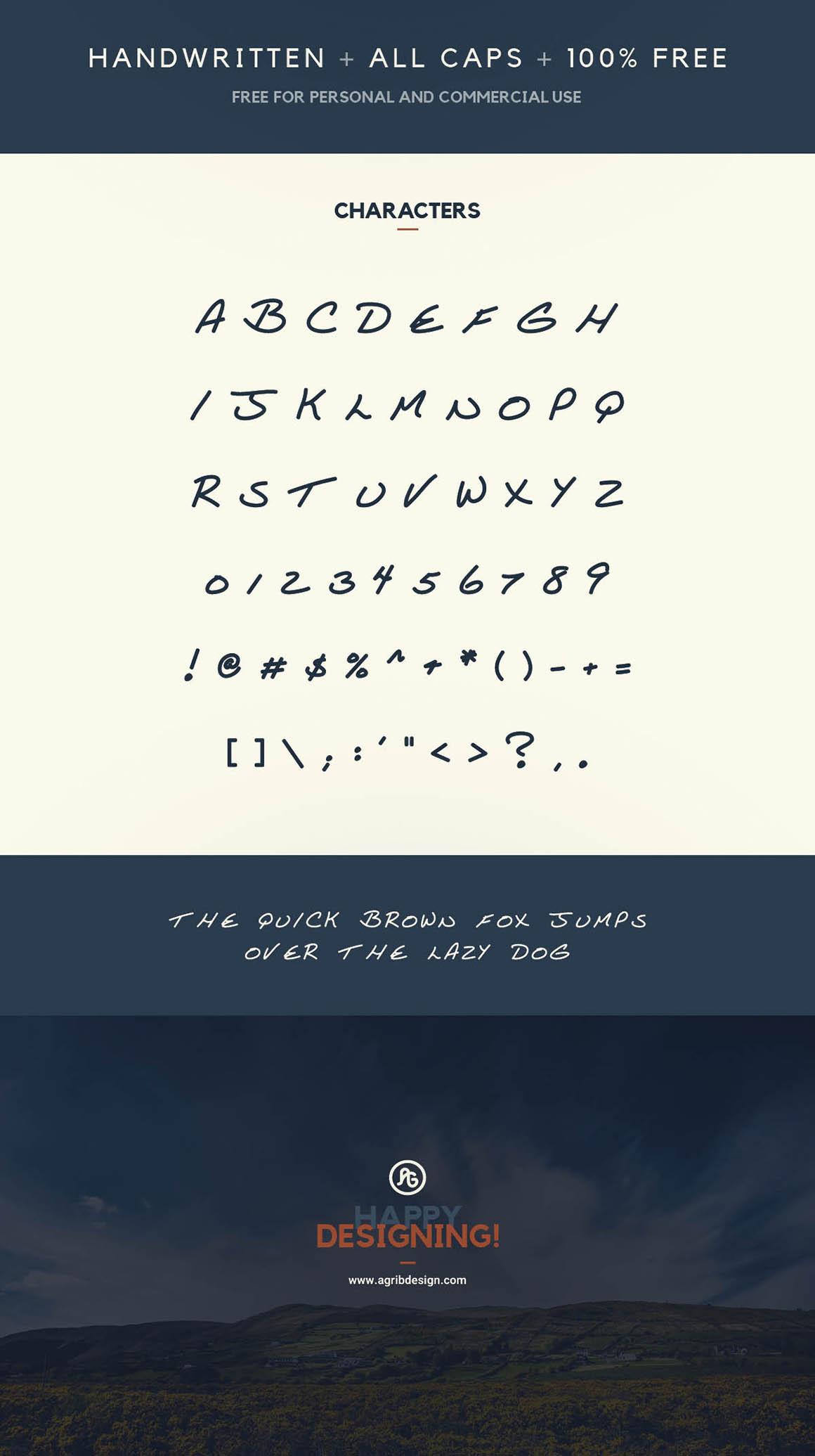 Tommy Lee - Free Font 1