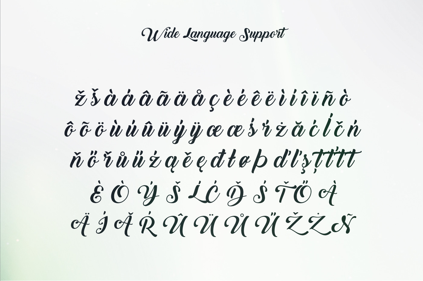 Back to Black Font