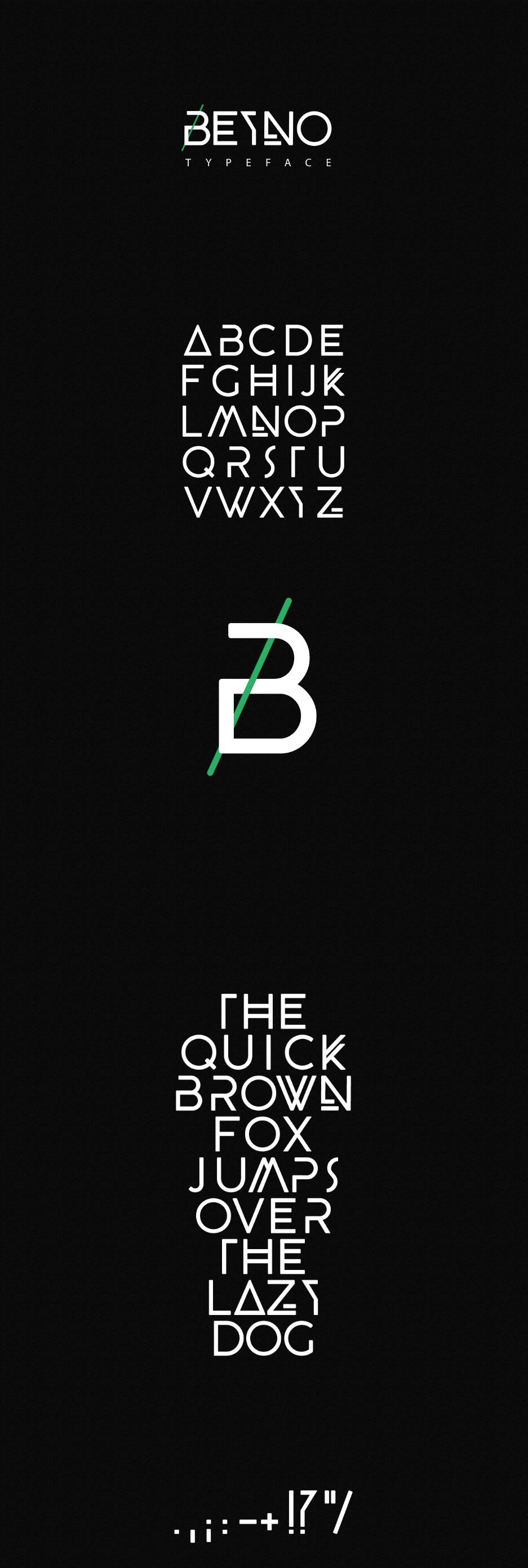 BEYNO font 9
