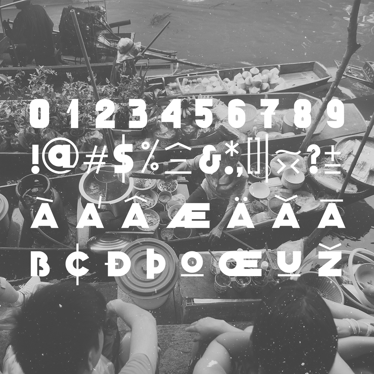 Classique Saigon Typeface