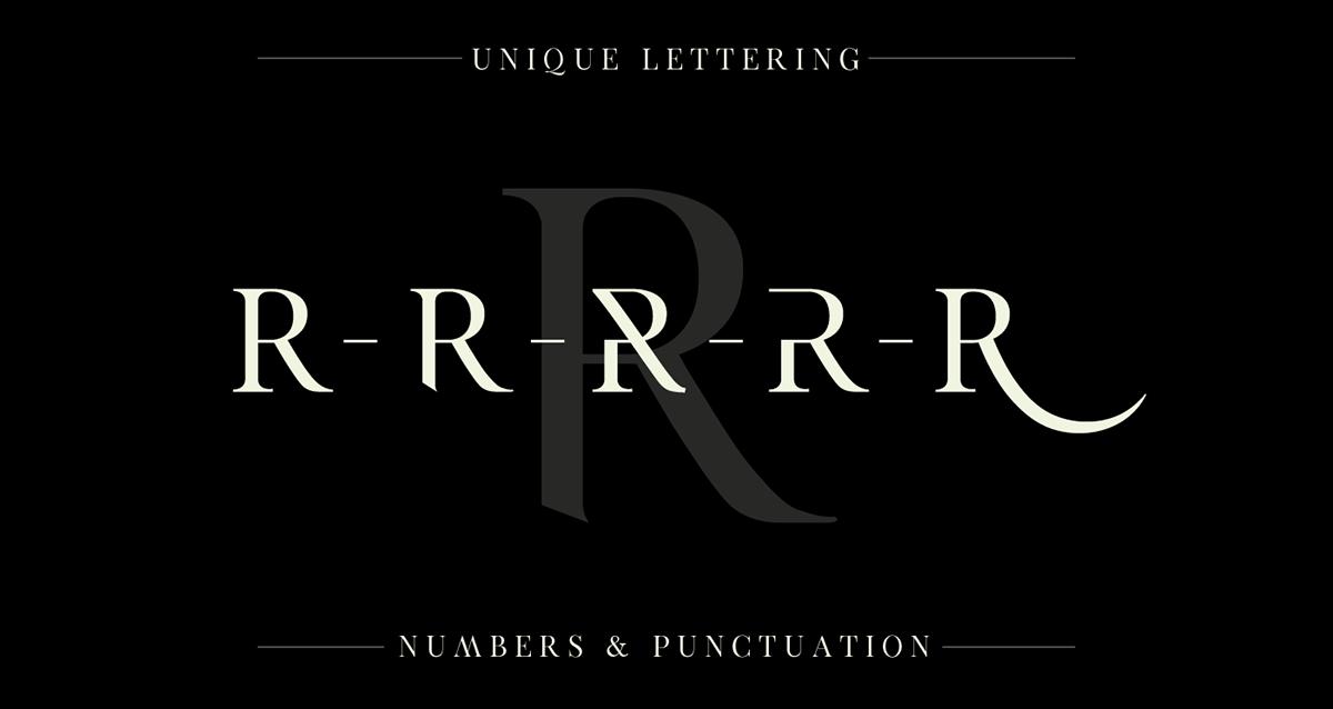 Exodus Typeface