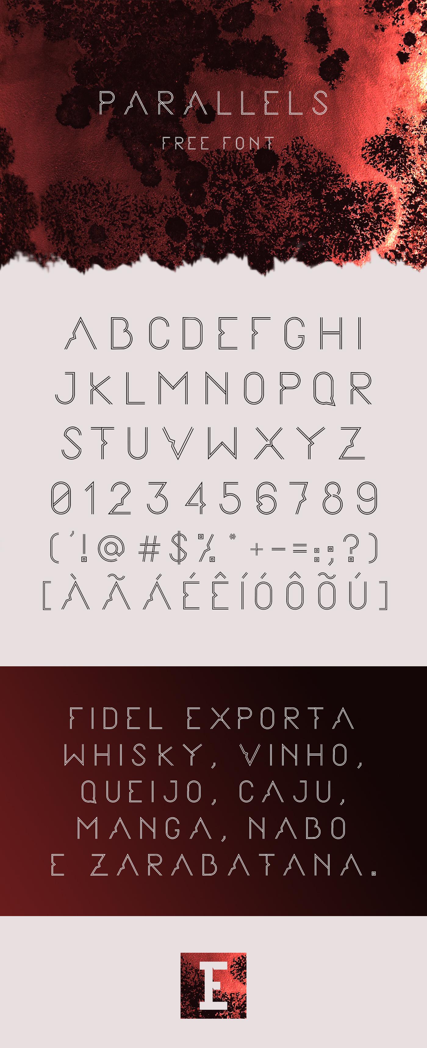 PARALLELS Font