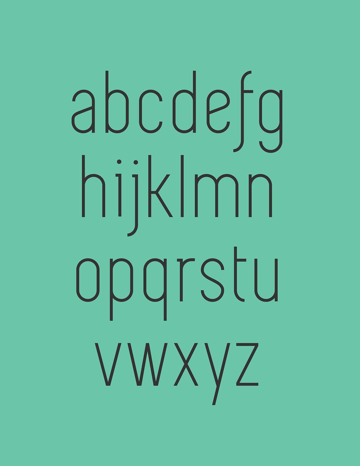 SIMPLIFICA Typeface